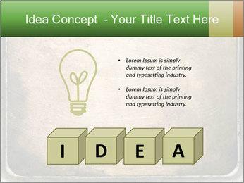 Bronze Surface PowerPoint Template - Slide 80