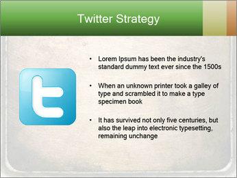 Bronze Surface PowerPoint Template - Slide 9