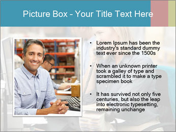 Woman Top Manager PowerPoint Templates - Slide 13