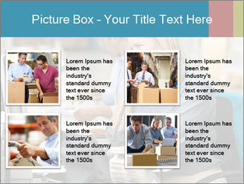 Woman Top Manager PowerPoint Templates - Slide 14