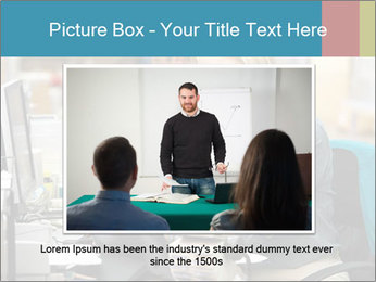 Woman Top Manager PowerPoint Templates - Slide 15