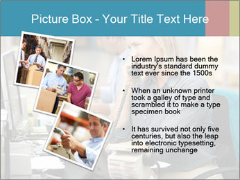 Woman Top Manager PowerPoint Templates - Slide 17