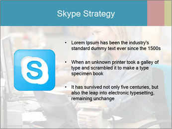 Woman Top Manager PowerPoint Templates - Slide 8