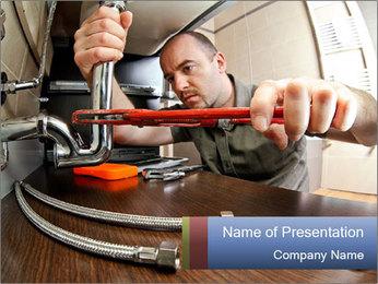 Maintenance Service PowerPoint Template - Slide 1