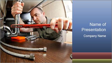 Maintenance Service PowerPoint Template