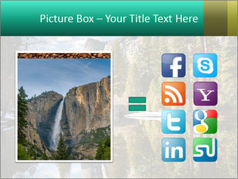 Pine Trees And Lake PowerPoint Templates - Slide 21