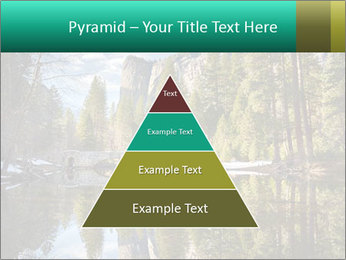 Pine Trees And Lake PowerPoint Templates - Slide 30