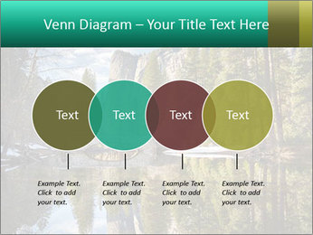 Pine Trees And Lake PowerPoint Templates - Slide 32