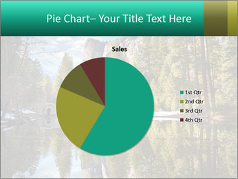 Pine Trees And Lake PowerPoint Templates - Slide 36