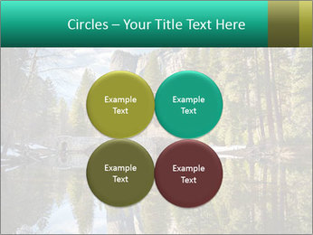 Pine Trees And Lake PowerPoint Templates - Slide 38