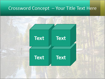 Pine Trees And Lake PowerPoint Templates - Slide 39