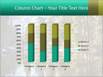 Pine Trees And Lake PowerPoint Templates - Slide 50