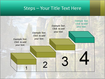 Pine Trees And Lake PowerPoint Templates - Slide 64
