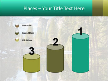 Pine Trees And Lake PowerPoint Templates - Slide 65