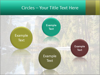 Pine Trees And Lake PowerPoint Templates - Slide 77