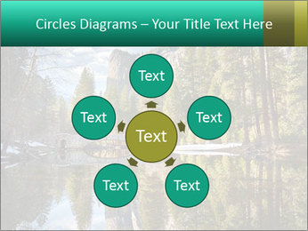 Pine Trees And Lake PowerPoint Templates - Slide 78