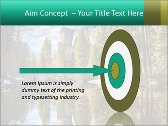 Pine Trees And Lake PowerPoint Templates - Slide 83