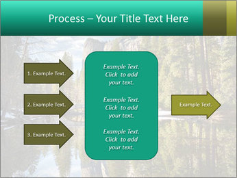Pine Trees And Lake PowerPoint Templates - Slide 85
