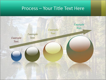 Pine Trees And Lake PowerPoint Templates - Slide 87