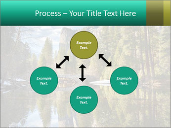 Pine Trees And Lake PowerPoint Templates - Slide 91