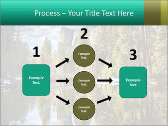 Pine Trees And Lake PowerPoint Templates - Slide 92
