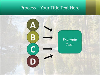 Pine Trees And Lake PowerPoint Templates - Slide 94