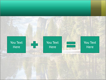Pine Trees And Lake PowerPoint Templates - Slide 95