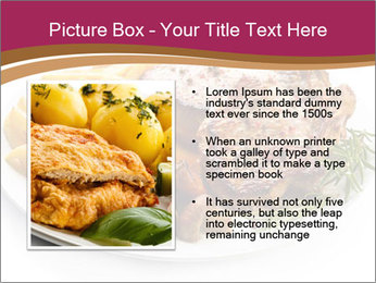 Steak And Chips PowerPoint Template - Slide 13
