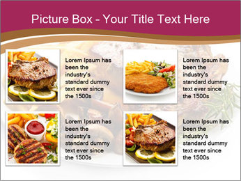 Steak And Chips PowerPoint Template - Slide 14