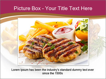 Steak And Chips PowerPoint Template - Slide 15