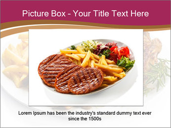 Steak And Chips PowerPoint Template - Slide 16