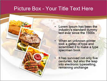Steak And Chips PowerPoint Template - Slide 17