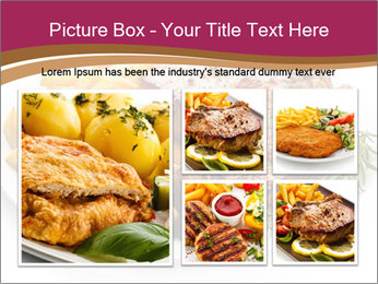 Steak And Chips PowerPoint Template - Slide 19