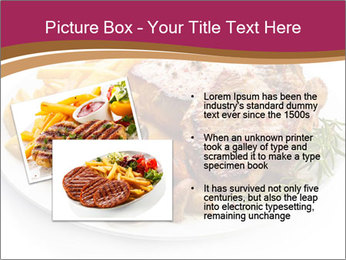 Steak And Chips PowerPoint Template - Slide 20