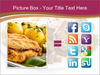 Steak And Chips PowerPoint Template - Slide 21