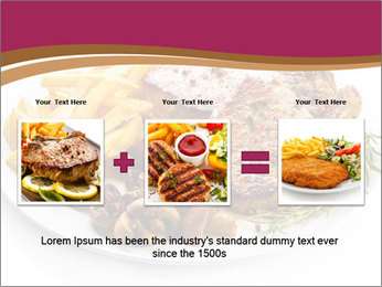 Steak And Chips PowerPoint Template - Slide 22
