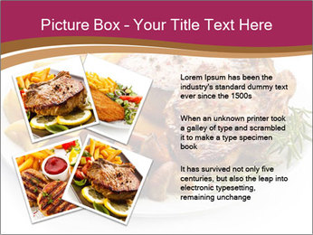 Steak And Chips PowerPoint Template - Slide 23