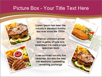 Steak And Chips PowerPoint Template - Slide 24