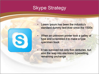 Steak And Chips PowerPoint Template - Slide 8