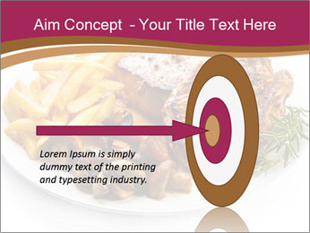 Steak And Chips PowerPoint Template - Slide 83