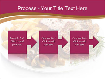 Steak And Chips PowerPoint Template - Slide 88
