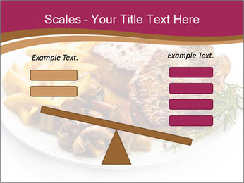 Steak And Chips PowerPoint Template - Slide 89