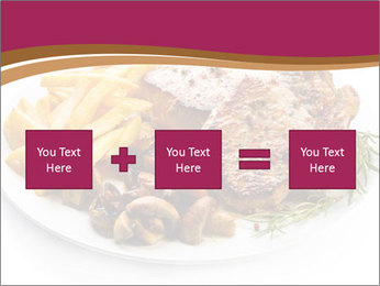 Steak And Chips PowerPoint Template - Slide 95