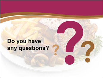 Steak And Chips PowerPoint Template - Slide 96