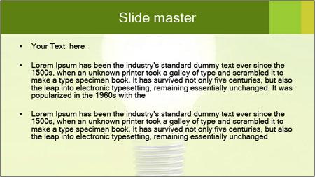 Efficient Green Energy PowerPoint Template - Slide 2