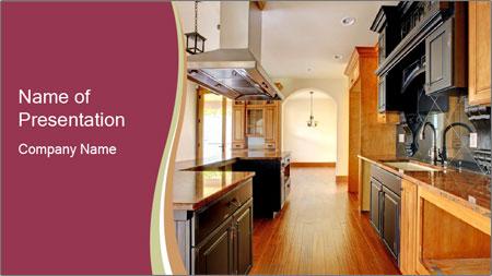 Kitchen Interior PowerPoint Template