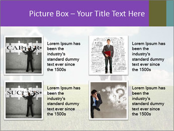 Imaginary House PowerPoint Template - Slide 14