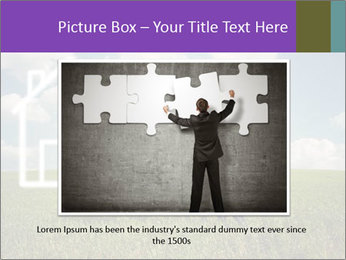 Imaginary House PowerPoint Template - Slide 15