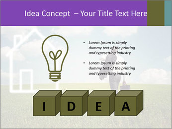 Imaginary House PowerPoint Template - Slide 80