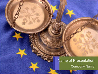 European Court PowerPoint Template